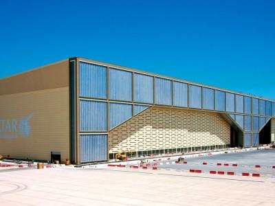 NEW DOHA INTERNATIONAL AIRPORT AIRCRAFT MAINTENANCE HANGAR/ DOHA,QATAR