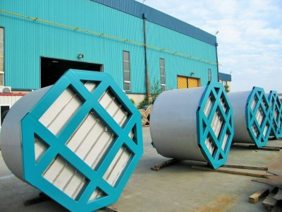 VERTICAL CYLINDRICAL SS 304L TANK FABRICATION