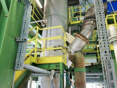 SO2 GAS COOLING TOWER FABRICATION
